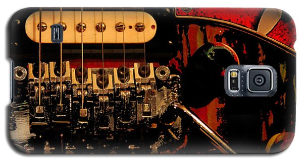 Galaxy S5 Case featuring the photograph Guitar Pickup by John Stuart Webbstock