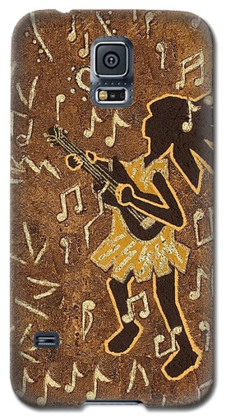 Guitar Player Galaxy S5 Case by Katherine Young-Beck