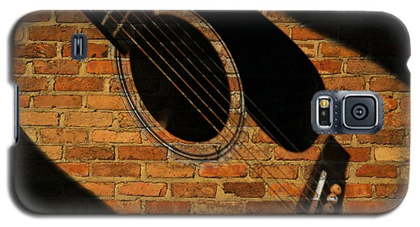 Guitar Shadow Galaxy S5 Case