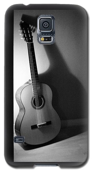 Guitar Still Life In Black And White Galaxy S5 Case