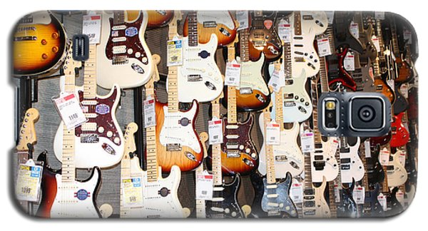 Guitar Wall Of Fame Galaxy S5 Case
