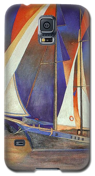Gulet Under Sail Galaxy S5 Case