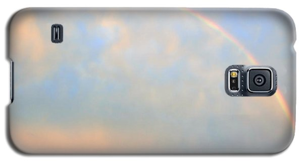 Galaxy S5 Case featuring the photograph Gulf Coast Rainbow by Charlotte Schafer