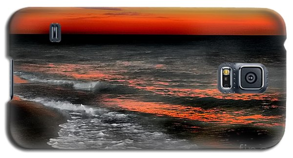 Gulf Coast Sunset Galaxy S5 Case by Clare VanderVeen