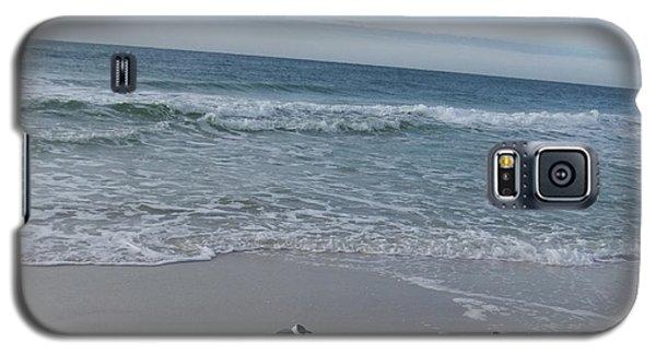 Galaxy S5 Case featuring the photograph Gulf Shore  by Deborah DeLaBarre