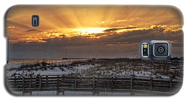 Gulf Shores From Pavilion Galaxy S5 Case by Michael Thomas