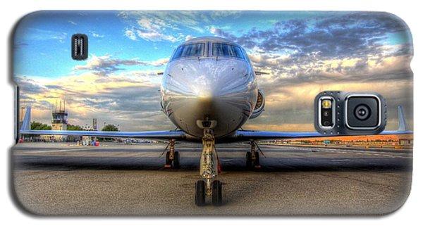 Gulfstream Gx450 At Livermore Klvk With Virga Galaxy S5 Case