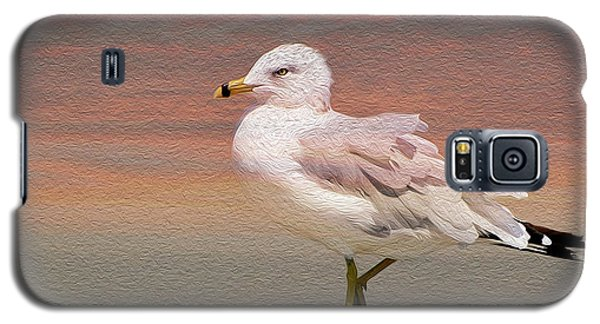 Gull Onthe Beach Galaxy S5 Case