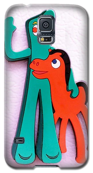 Gumby And Pokey B F F Galaxy S5 Case
