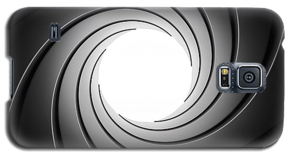 Gun Barrel From Inside Galaxy S5 Case