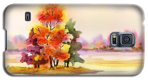 Gunpowder State Park In The Fall Galaxy S5 Case by Yolanda Koh