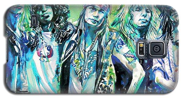 Guns N' Roses - Watercolor Portrait Galaxy S5 Case