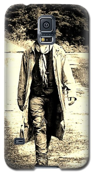 Galaxy S5 Case featuring the photograph Gunslinger by B Wayne Mullins