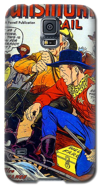 Gunsmoke Trail Galaxy S5 Case