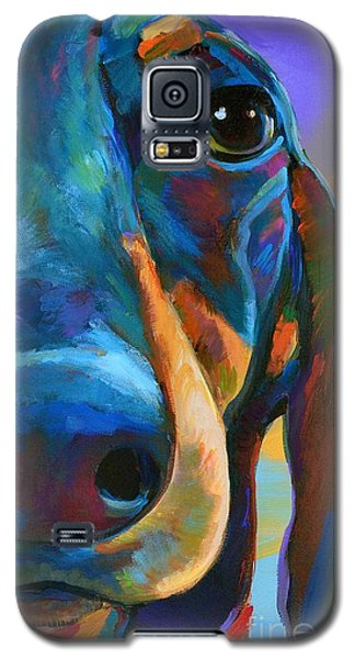 Galaxy S5 Case featuring the painting Gus by Robert Phelps
