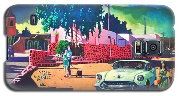 Guys Dolls And Pink Adobe Galaxy S5 Case by Art James West