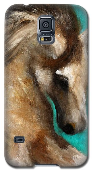 Galaxy S5 Case featuring the painting Gypsy by Barbie Batson