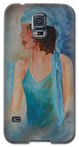Gypsy Blue Galaxy S5 Case
