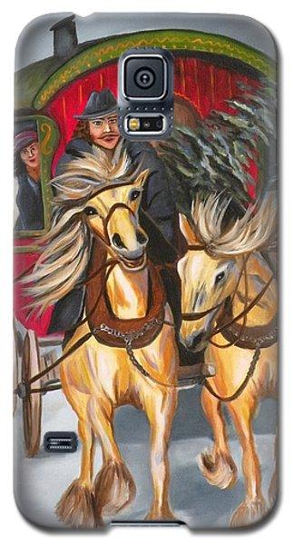 Gypsy Christmas Galaxy S5 Case