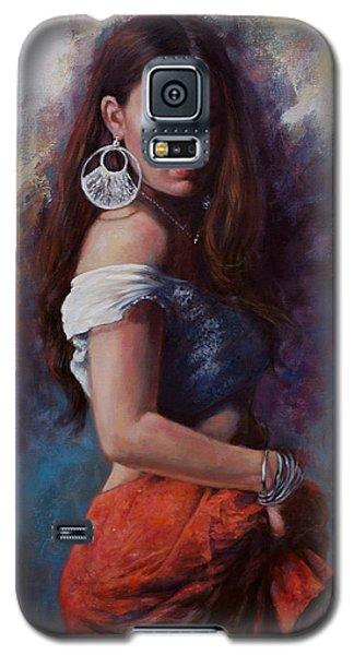 Gypsy Galaxy S5 Case by Harvie Brown