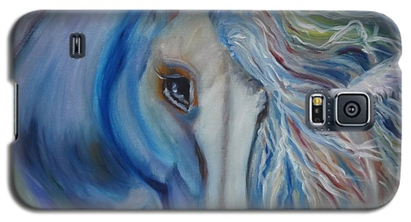 Galaxy S5 Case featuring the painting Gypsy Shadow by Jenny Lee