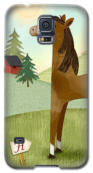 H Is For Henry The Horse Galaxy S5 Case
