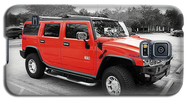 Red Hummer H2 Series  Galaxy S5 Case
