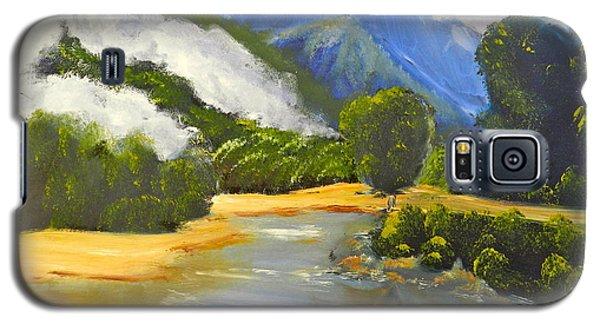 Haast River New Zealand Galaxy S5 Case