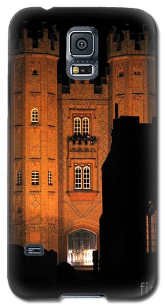 Hadleigh Deanery By Night Galaxy S5 Case by Linda Prewer