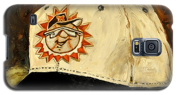 Galaxy S5 Case featuring the painting Hagerstown Suns by Lindsay Frost
