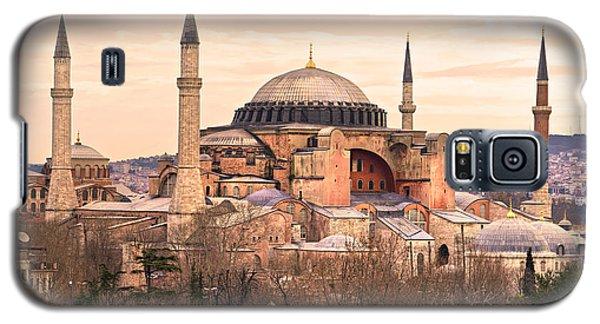 Hagia Sophia Mosque - Istanbul Galaxy S5 Case by Luciano Mortula