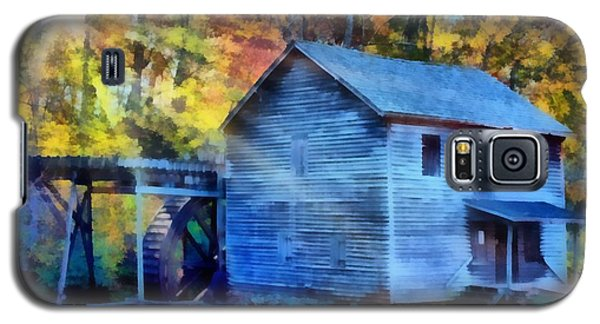 Hagood Mill With Sunrays Galaxy S5 Case by Lynne Jenkins