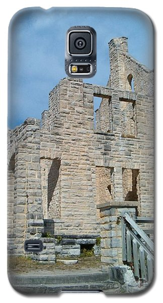 Galaxy S5 Case featuring the photograph Haha Tonka Castle 2 by Sara  Raber