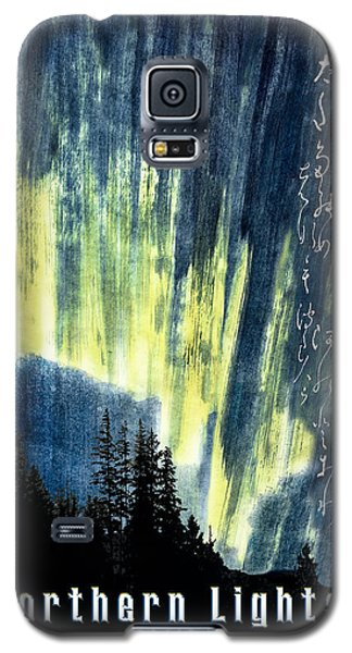 Galaxy S5 Case featuring the photograph Haiga Poster Haiku Canada Conference  by Peter v Quenter