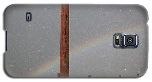 Hail And Rainbow Galaxy S5 Case