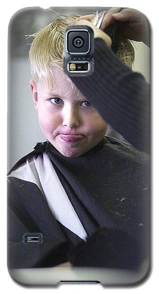 Hair Cut Kid Galaxy S5 Case