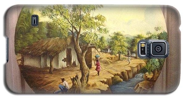 Haitian Landscape Galaxy S5 Case by Haitian artist