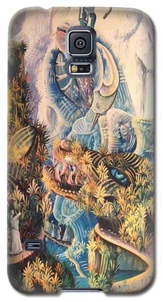 Haitian Mystical Mandscape Galaxy S5 Case by Dimanche