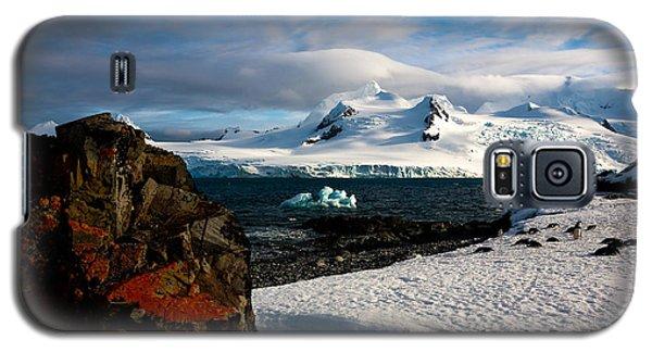 Half Moon Island Antarctica Galaxy S5 Case