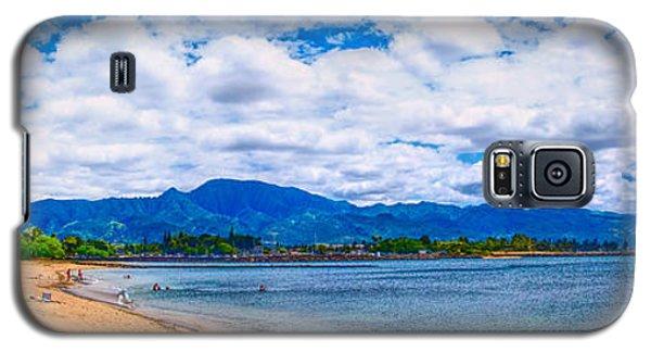 Haleiwa Beach Galaxy S5 Case by Gordon Engebretson