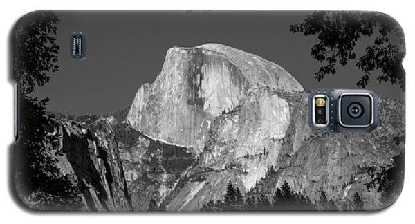 Half Dome Black And White Galaxy S5 Case
