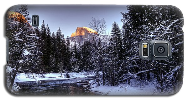 Half Dome Final Light Galaxy S5 Case