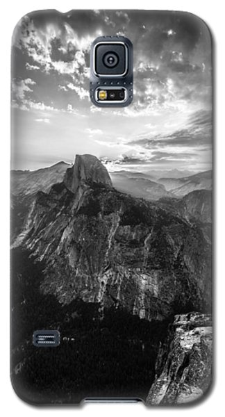 Half Dome In Black And White Galaxy S5 Case by Mike Lee
