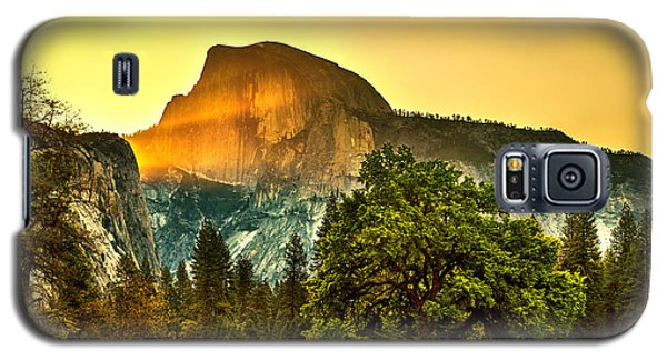Half Dome Sunrise Galaxy S5 Case by Az Jackson