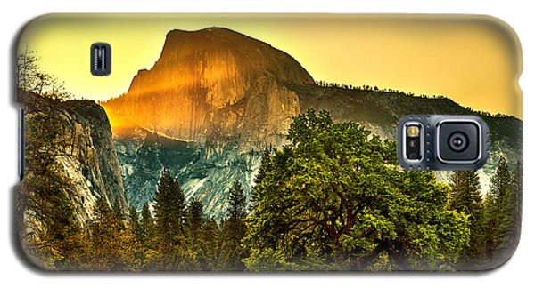 Half Dome Sunrise Galaxy S5 Case