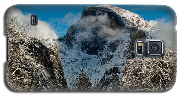 Half Dome Winter Galaxy S5 Case