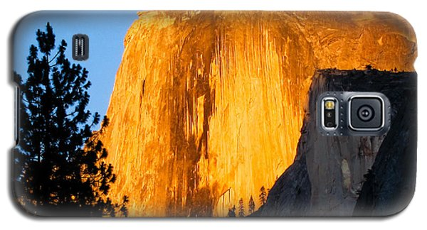 Half Dome Yosemite At Sunset Galaxy S5 Case