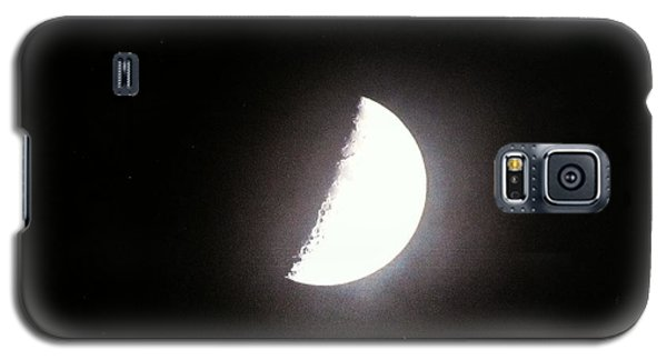 Galaxy S5 Case featuring the photograph Half Moon by Alohi Fujimoto
