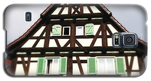House Galaxy S5 Case - Half-timbered House 01 by Matthias Hauser