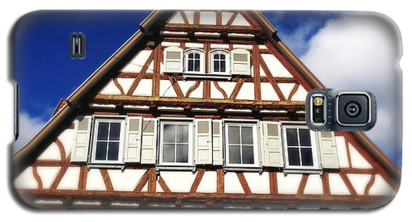 House Galaxy S5 Case - Half-timbered House 03 by Matthias Hauser